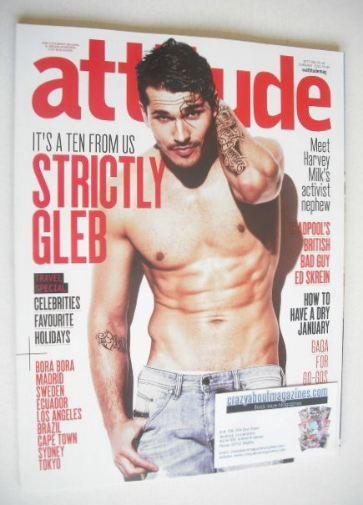 <!--2016-02-->Attitude magazine - Gleb Savchenko cover (February 2016)