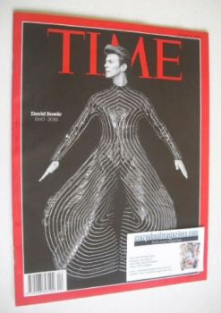 Time magazine - David Bowie cover (25 January 2016)