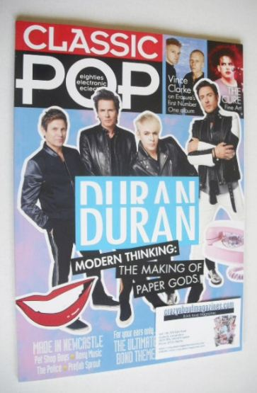<!--2015-10-->Classic Pop magazine - Duran Duran cover (October/November 20