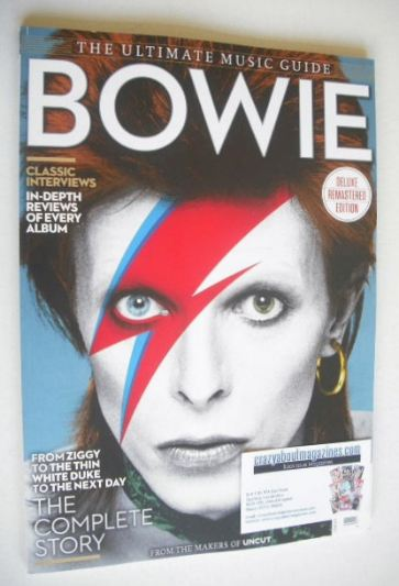 <!--2015-06-->The Ultimate Music Guide magazine - David Bowie cover (June 2