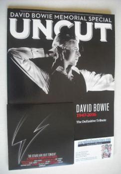 Uncut magazine - David Bowie cover (March 2016)