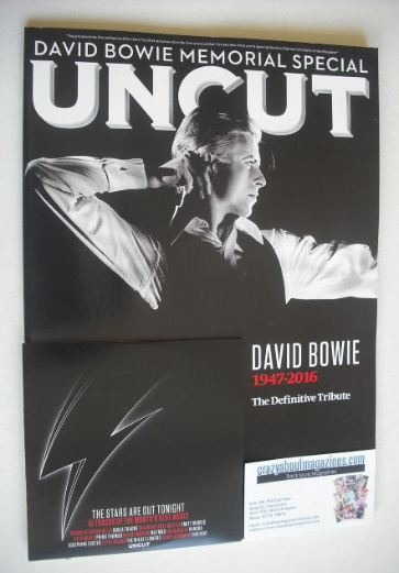 <!--2016-03-->Uncut magazine - David Bowie cover (March 2016)