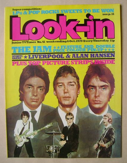<!--1979-10-06-->Look In magazine - The Jam cover (6 October 1979)