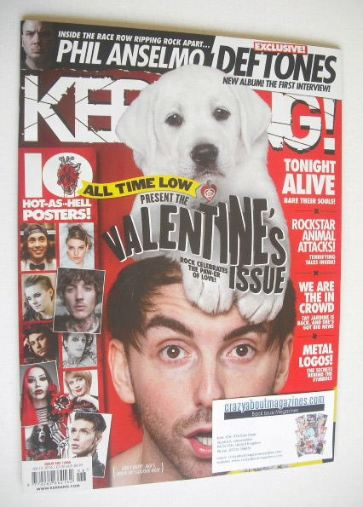 <!--2016-02-13-->Kerrang magazine - The Valentine's Issue (13 February 2016