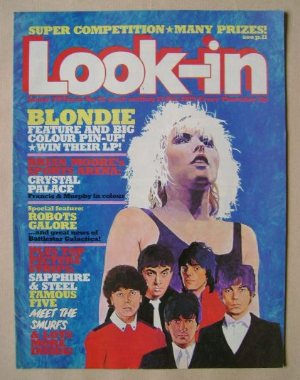 <!--1979-10-13-->Look In magazine - Blondie cover (13 October 1979)