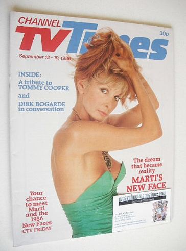 <!--1986-09-13-->CTV Times magazine - 13-19 September 1986 - Marti Caine co