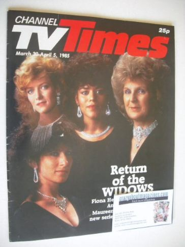 <!--1985-03-30-->CTV Times magazine - 30 March - 5 April 1985 - Return Of T