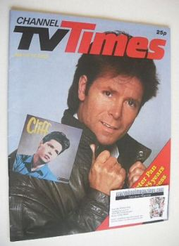 CTV Times magazine - 6-12 April 1985 - Cliff Richard cover
