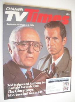 CTV Times magazine - 29 September - 5 October 1984 - The Glory Boys cover