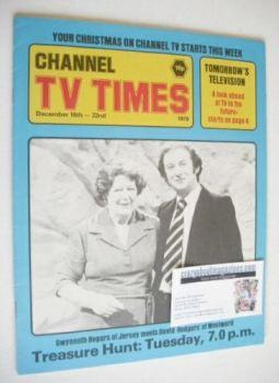 CTV Times magazine - 16-22 December 1978 - Treasure Hunt cover