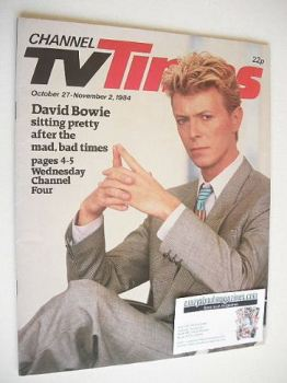 CTV Times magazine - 27 October - 2 November 1984 - David Bowie cover