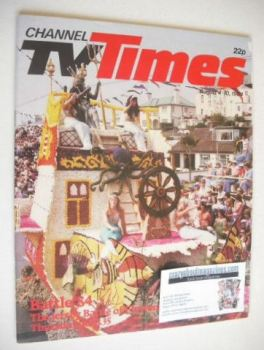 CTV Times magazine - 4-10 August 1984 - Jersey's Battle '84 cover