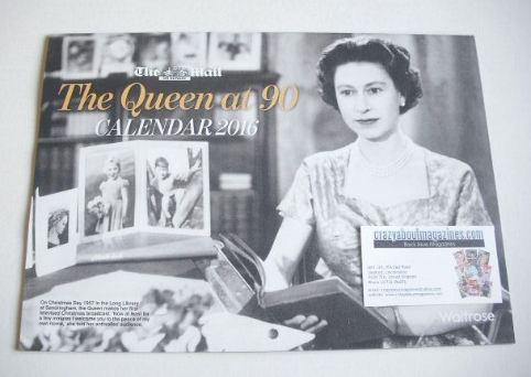 The Queen At 90 (2016 calendar)