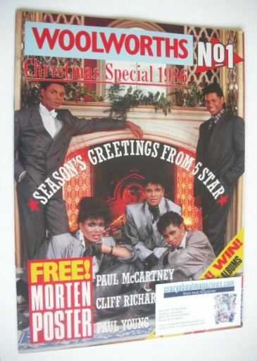 <!--1986-12-28-->No 1 magazine - Woolworths Christmas Special 1986
