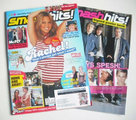 <!--2005-09-20-->Smash Hits magazine - Rachel Stevens cover (20 September -