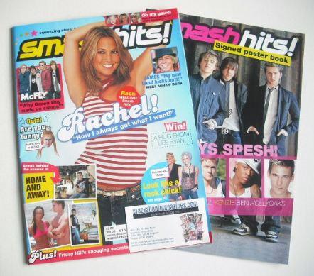 <!--2005-09-20-->Smash Hits magazine - Rachel Stevens cover (20 September -