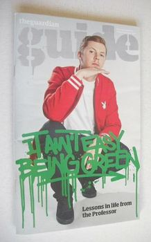 The Guardian Guide magazine - Professor Green cover (8 October 2011)