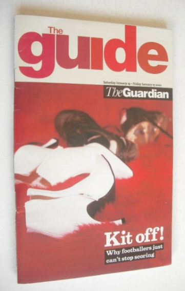 <!--2002-01-19-->The Guardian Guide magazine - Kit Off (19 January 2002)