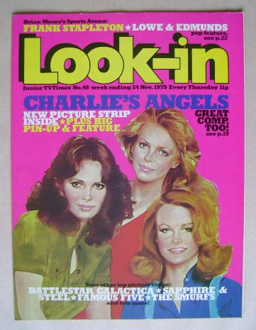 <!--1979-11-24-->Look In magazine - Charlie's Angels cover (24 November 197