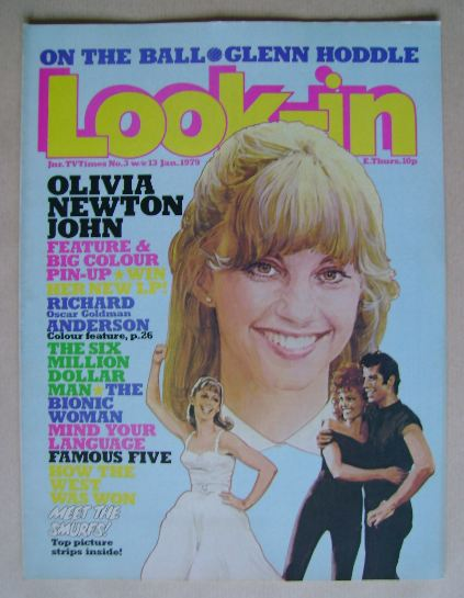 <!--1979-01-13-->Look In magazine - Olivia Newton John cover (13 January 19