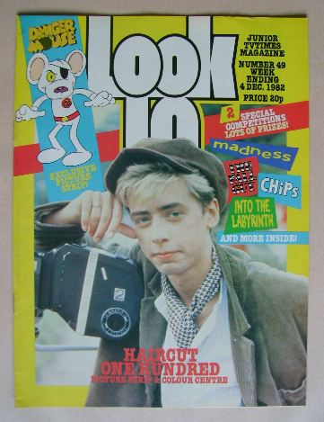 <!--1982-12-04-->Look In magazine - Nick Heyward cover (4 December 1982)