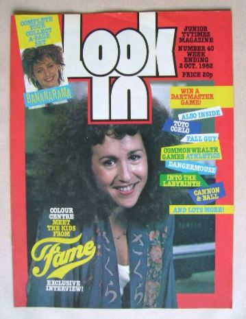 <!--1982-10-02-->Look In magazine - Valerie Landsburg cover (2 October 1982