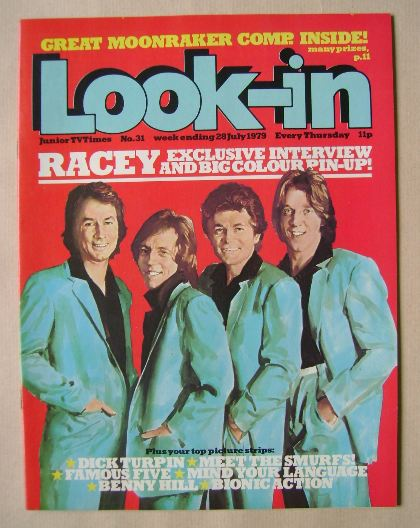 <!--1979-07-28-->Look In magazine - Racey cover (28 July 1979)