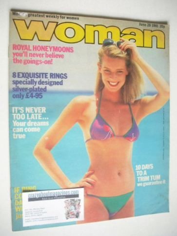 <!--1981-06-20-->Woman magazine (20 June 1981)