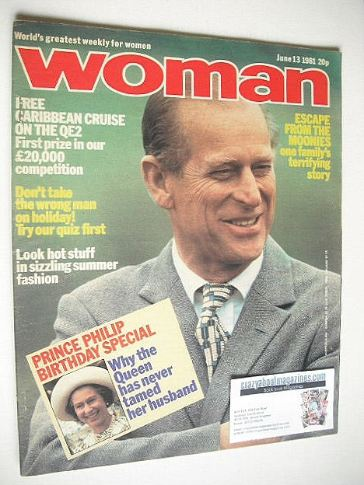 <!--1981-06-13-->Woman magazine - Prince Philip cover (13 June 1981)