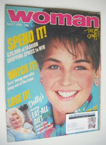 <!--1984-04-07-->Woman magazine (7 April 1984)