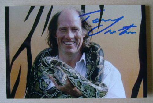 Terry Nutkins autograph (hand-signed photograph)