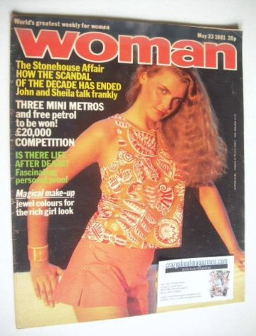 <!--1981-05-23-->Woman magazine (23 May 1981)