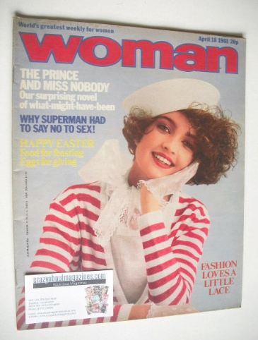 <!--1981-04-18-->Woman magazine (18 April 1981)