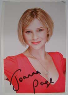 Joanna Page autograph