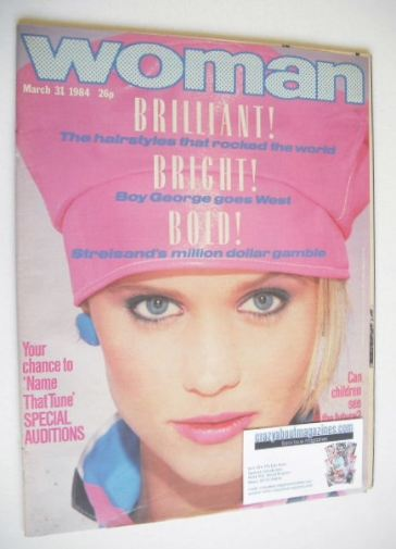 <!--1984-03-31-->Woman magazine (31 March 1984)