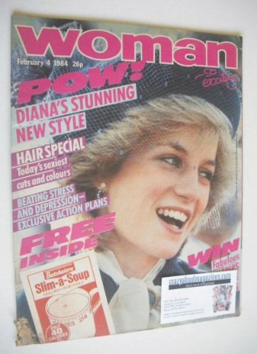 <!--1984-02-04-->Woman magazine - Princess Diana cover (4 February 1984)