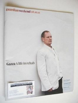 The Guardian Weekend magazine - 8 October 2011 - Paul Gascoigne cover