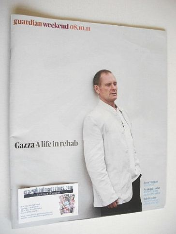 <!--2011-10-08-->The Guardian Weekend magazine - 8 October 2011 - Paul Gasc