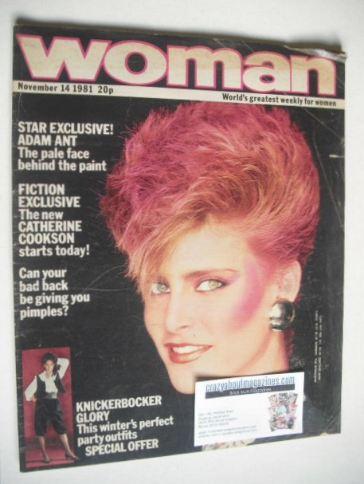 <!--1981-11-14-->Woman magazine (14 November 1981)