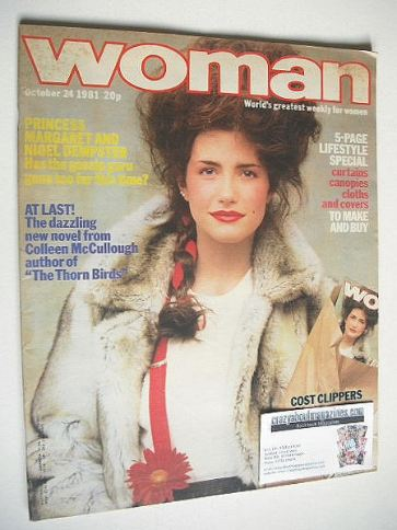 <!--1981-10-24-->Woman magazine (24 October 1981)