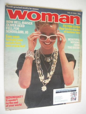 <!--1981-07-11-->Woman magazine (11 July 1981)