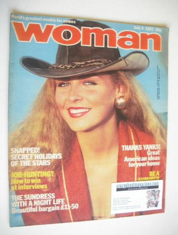 <!--1981-07-04-->Woman magazine (4 July 1981)