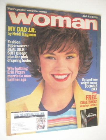 <!--1981-04-04-->Woman magazine (4 April 1981)