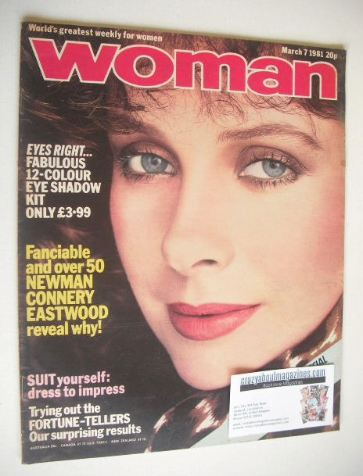 <!--1981-03-07-->Woman magazine (7 March 1981)