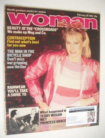 <!--1981-02-28-->Woman magazine (28 February 1981)