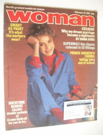 <!--1981-02-14-->Woman magazine (21 February 1981)