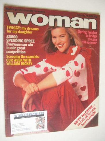 <!--1981-02-14-->Woman magazine (14 February 1981)