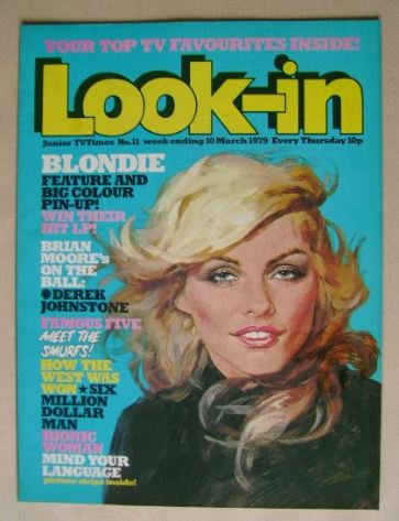 <!--1979-03-10-->Look In magazine - Debbie Harry cover (10 March 1979)