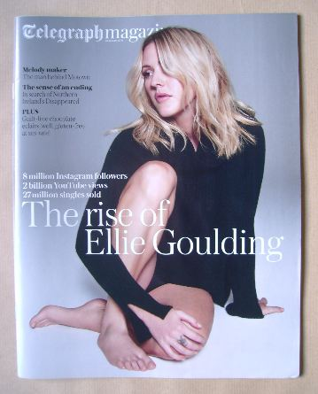 <!--2016-01-23-->Telegraph magazine - Ellie Goulding cover (23 January 2016