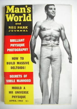 Man's World magazine / booklet (April 1965)